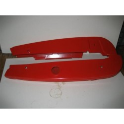 Honda C70 Chain Cover Red