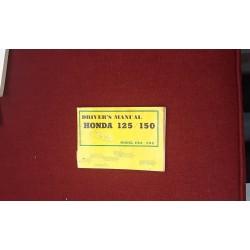 Honda Driver's Manual Model C92 C95