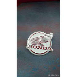 Honda C50E C70E C90E Leg SHIELD Logo With Wing