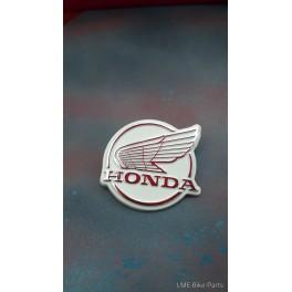 Honda C50E C70E C90E Leg SHIELD Logo With Wing