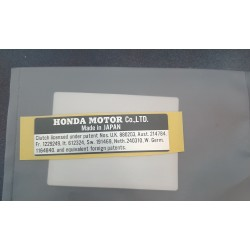 Honda 87125-001-600 Plate Maker Sticker