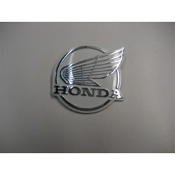Honda C50E Front  Leg SHIELD Logo With Wing