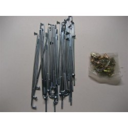 Honda 70 Spokes Back Set  6v