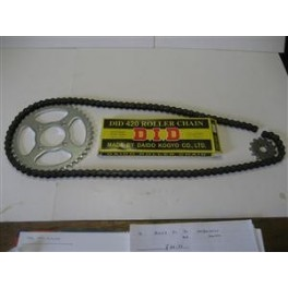 Honda 50 Chain Set (DID Chain)