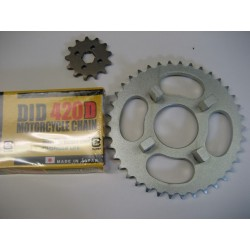 Honda C100 Chain Set